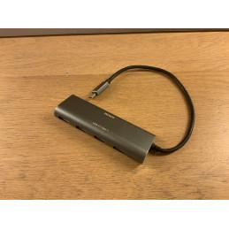 Deltaco USB-C-hubi (USB-A x 4)